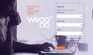 Sign up for wegg newsletter