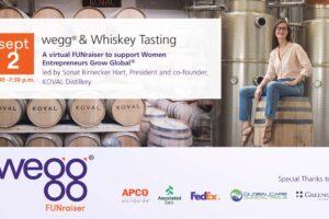 wegg & Whiskey Tasting on Sept 2, 2020