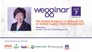 wegginar with Wendy Shen on Oct 7