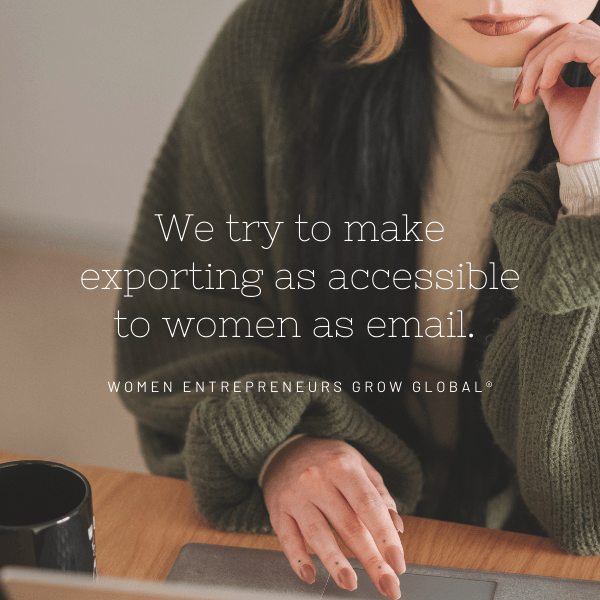 wegg® makes exporting accessible